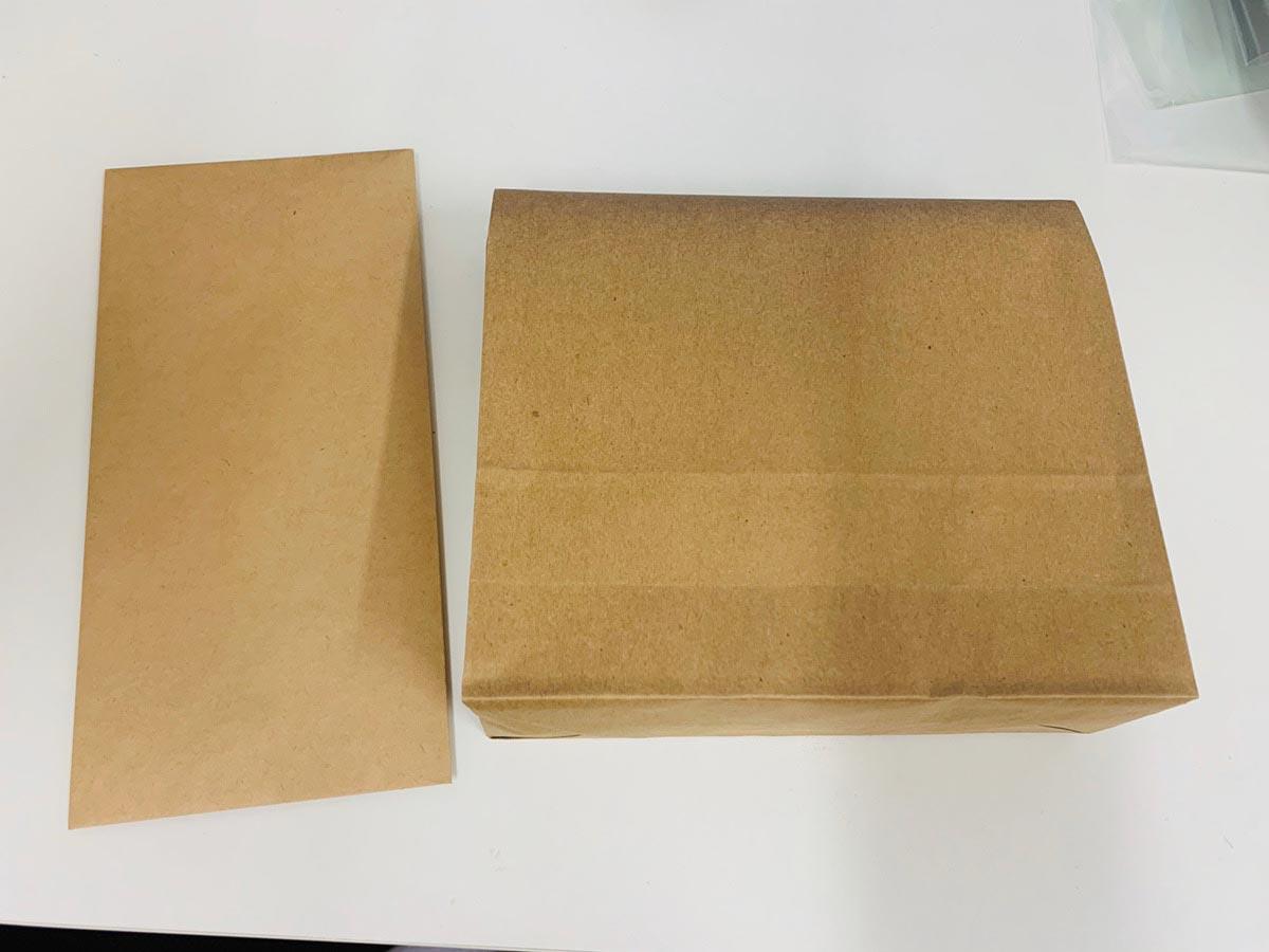 謎袋の中身は入っていたのは封筒と大きめの袋